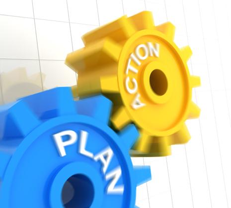 ¿Cómo se garantiza el cumplimiento de un plan?