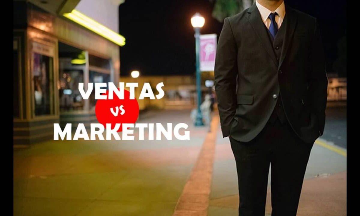Ventas y Marketing. Diferencias vitales