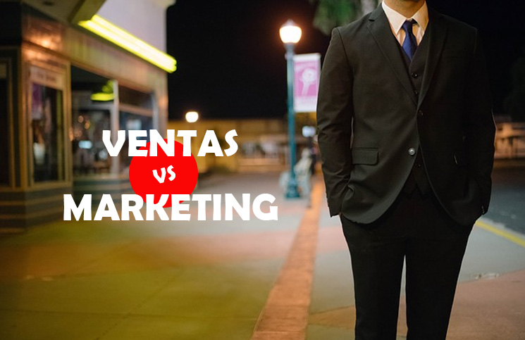 Ventas vs Marketing. Diferencias Vitales
