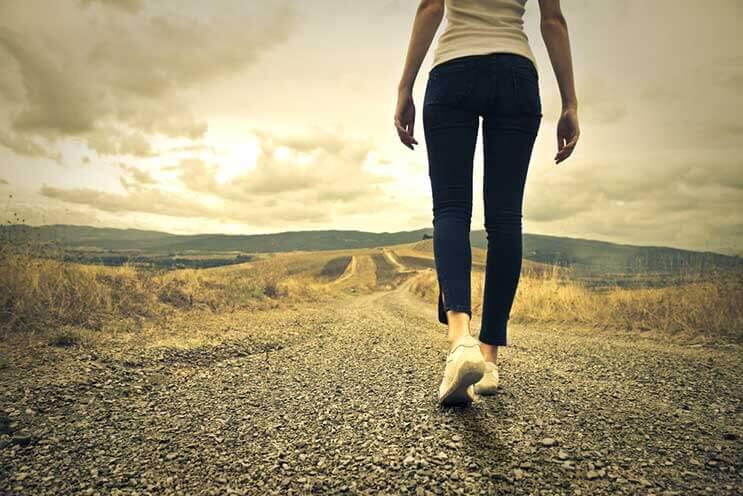 Sigue Caminando. ¡Nunca te detengas!