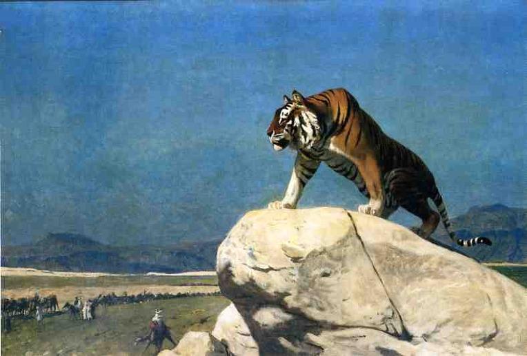 Angustia, tensión y otros males. ¿dónde está el tigre?