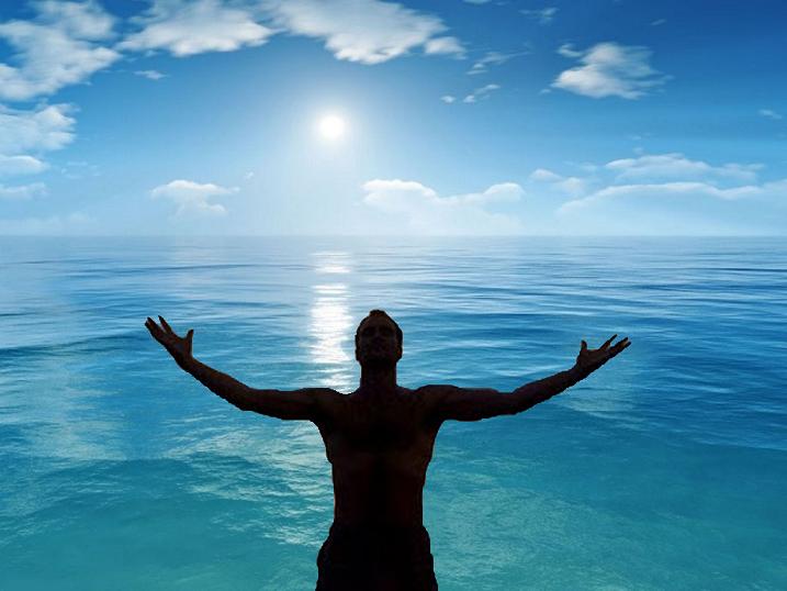 """El """"hombre en la arena"""", saludo al Emprendedor y al hombre propositivo"""