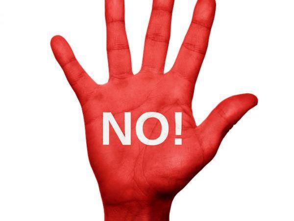 Aprenda a decir NO en estos 10 importantes casos