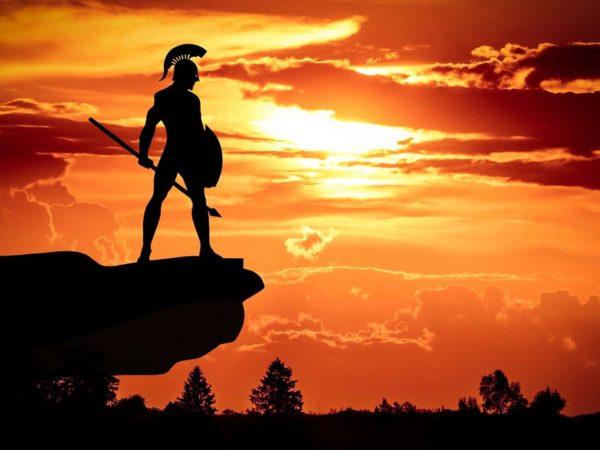 Los guerreros espartanos y el carácter del líder